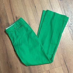 Gap Bright Green Modern Boot Cut Pants